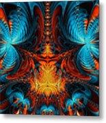 Butterfly Plasma  Metal Print
