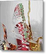 Butterfly Metal Print by Soumya Bouchachi