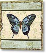 Butterfly Trio-3 Metal Print