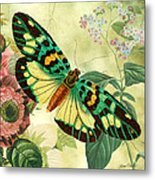 Butterfly Visions-a Metal Print
