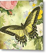 Butterfly Visions-d Metal Print