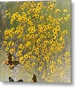 Butterfly's Paradise Metal Print