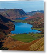 Buttermere View Metal Print