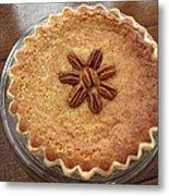 Buttermilk Pecan Pie Metal Print