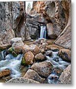 Buttermilks Waterfall Metal Print