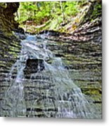 Butternut Falls Metal Print by Frozen in Time Fine Art Photography