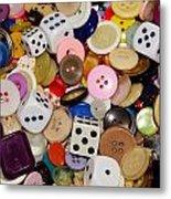 Buttons 674 Metal Print
