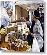 Buying Honey Metal Print