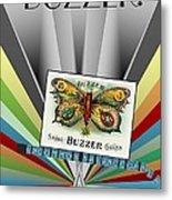 Buzzer Metal Print