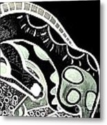 Bw Horse Metal Print by Amy Sorrell