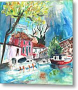 By A French Canal 01 Metal Print