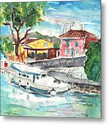 By A French Canal 02 Metal Print