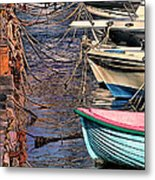 By A Nose Mykonos Greece Metal Print