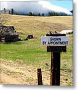 By Appointment Metal Print