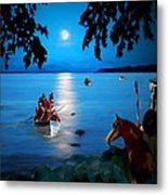 By Cover Of Night Metal Print