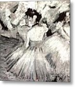 By Degas Metal Print