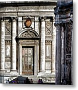 By The Arch Metal Print