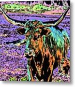 By The Horns Metal Print
