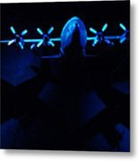 By The Light Of The Twin Moons Metal Print