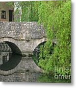By The Old Mill Stream Metal Print