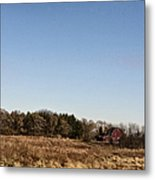 By The Pond Metal Print