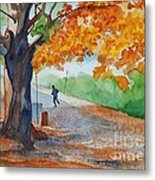 By The Rideau Canal Metal Print