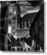 By The Station Metal Print by Tim Wilson