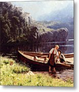By The Waters Edge Metal Print