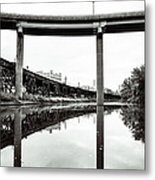 By Train Boat Or Automobile Metal Print