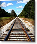 Never Ending Tracks Metal Print