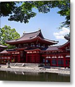 Byodoin Temple - Kyoto Japan Metal Print