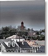 Bywater Rooftops Metal Print