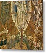 Byzantine Icon Depicting The Transfiguration Metal Print