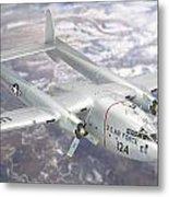 C-119 Flying Boxcar Metal Print
