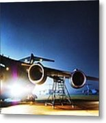 C-17 Lights Metal Print
