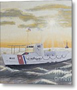 C G  40300 On Patrol Metal Print