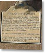 Ca-909 Our Lady Of The Wayside Metal Print