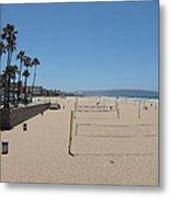 Ca Beach - 12121 Metal Print