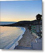 Ca Beach - 121229 Metal Print