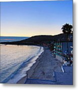 Ca Beach - 121232 Metal Print
