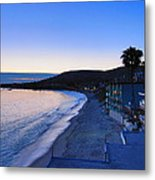Ca Beach - 121237 Metal Print