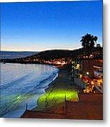 Ca Beach - 121239 Metal Print