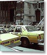 Cab Central Metal Print