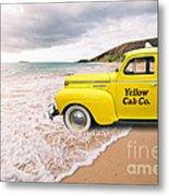 Cab Fare To Maui Metal Print