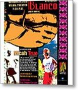 Caballo Blanco Event Poster In Missoula Montana Metal Print