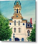 Cabarrus County Courthouse Metal Print