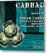Cabbage Farm Metal Print