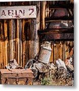 Cabin 2 Metal Print