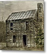 Cabin By The Track Series II Metal Print