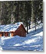 Cabin On Grand Mesa Co Metal Print